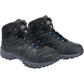 Mammut Mercury III Mid GTX Shoes Men black/dark gentian